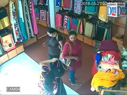 Mother and daughter arrested for stealing sari