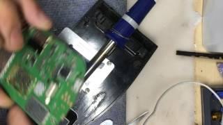 Maquina de soldar e tirar componentes eletrônicos