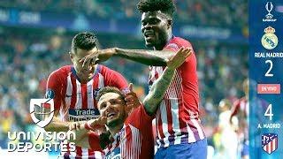 Real Madrid 2-4 Atlético de Madrid - RESUMEN Y GOLES – Súper Copa de la UEFA 2018