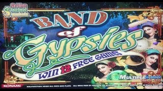 Konami - Band of Gypsies Slot Line Hit