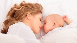 Mother and Baby Gentle Sleep Music with Relaxing Wave Sounds, Fall Asleep Fast 🕙10 Hours