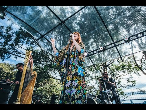 Florence and the Machine - Queen Of Peace (Acoustic) Live at Sydney's Botanical Gardens Secret Show