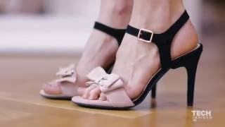 A German company created shoes with five interchangeable heels – so you can wear them for any occasi