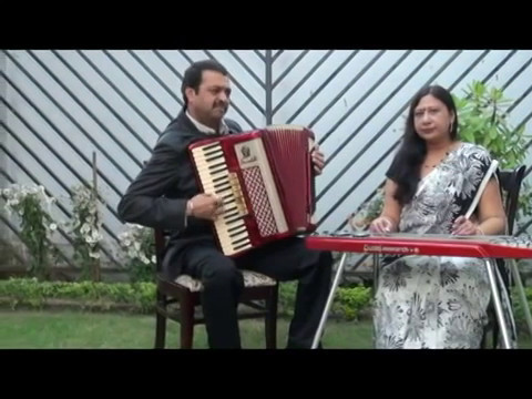 Tere Bina Zindagi Se Koi Shikwa To Nahin Instrumental SONALI NATH and SANJEEV SACHDEVA