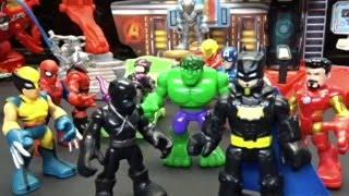 Marvel Avengers Imaginext The power of Doom Part 2 Stop Motion