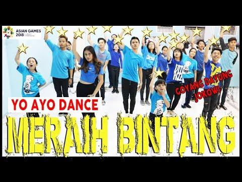VIA VALLEN - MERAIH BINTANG - YO AYO DANCE - GOYANG DAYUNG JOKOWI - ASIAN GAMES  Choreo by Diego