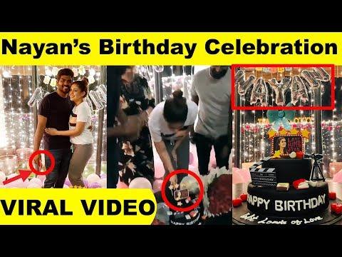 Xxx Mp4 Viral Video Nayan's Birthday Celebration Video Goes Viral Lady Superstar Nayanthara Kollywood 3gp Sex