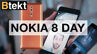 NOKIA 8 DAY! Hands-on with the newest flagship in London town
