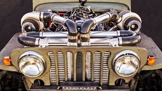 DEATHTRAP Willy's - Twin Turbo JEEP!