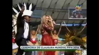 Shakira - La La La (Closing Ceremony 2014 FIFA World Cup Brazil )