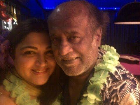Rajinikanth Chiranjeevi Reunite At Mohanlal s 80s Actors Party Tamil Actors Kushboo hot