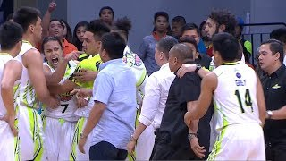 Commotion between Coach Pido and Terrence Romeo | PBA Philippine Cup 2018