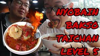 Makan Bakso Kuah Taichan Level 5 Sanggup Ngak Ya? Featuring Anak Kuliner - #Vlog007