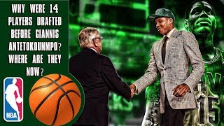 Why Were 14 Players Drafted Before Giannis Antetokounmpo? Where Are They Now?