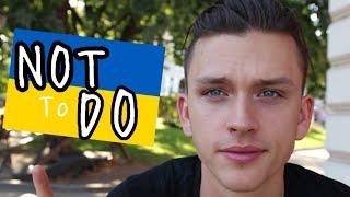 Don´t do this in UKRAINE !