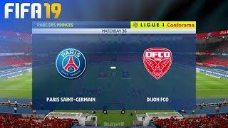 FIFA 19 - Paris Saint Germain vs. Dijon FCO @ Parc des Princes