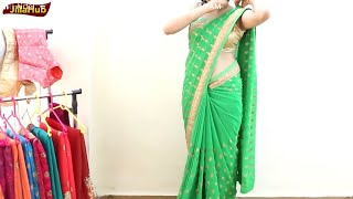 Wear Saree Perfectly to Look Gorgeous & Dance Well in Party Just In 4 Mints   Bollywood Perfect Sari