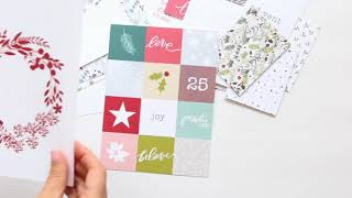 December Daily® | 2017 Jasmine Jones Mini Kit
