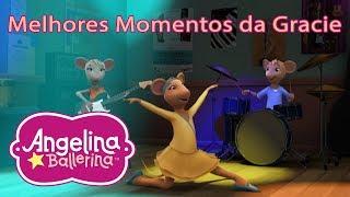 Angelina Ballerina Brasil 🎵 Melhores Momentos da Gracie 💃 #AngelinaBallerina