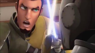 Starwars Rebels Kanan vs Temple Gaurds