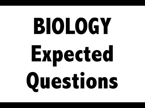 Expected Biology science MCQ questions for SSC CGL RAILWAYS