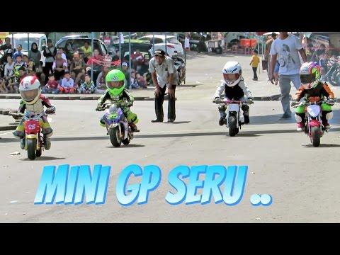 Anak Kecil Balap Motor Umur 3 10 Tahun Berani Ngebut Pocket Bike Racing Kids MINI GP Indonesia