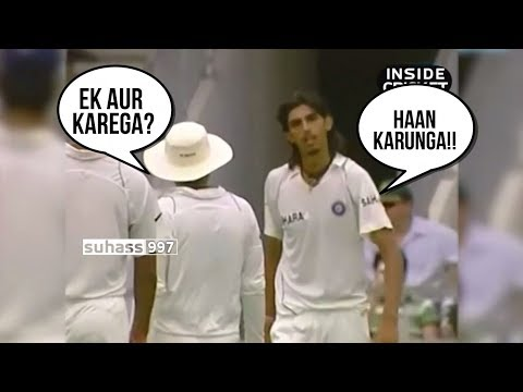 ISHANT SHARMA vs RICKY PONTING 2008 The legendary Perth Spell which drove India to victory