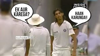 ISHANT SHARMA vs RICKY PONTING 2008- The legendary Perth Spell which drove India to victory