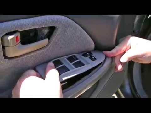 Toyota camry how to remove door panel to install speaker - 2003 toyota camry exterior door handle ...