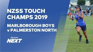 NZSS Touch Champs 2019- - Marlborough Boys v Palmerston North Boys   Touch   Sky Sport Next