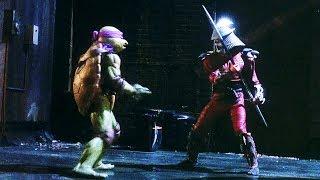 Turtles vs Shredder | Teenage Mutant Ninja Turtles (1990)