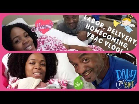 💝Labor, Delivery & Homecoming Birth Story ~VBAC #2~40 & Pregnant~9/20-23/16💝