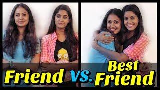 Friends Vs Best Friends ( feat. Captain Nick ) | Rickshawali