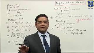 Dr Bhatia discussing on Myasthenia Gravis