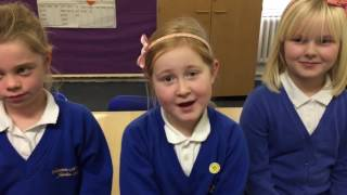 Check out these little girls from England who are describing what they look like to me! So beautiful