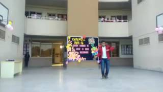 Performed on farewell (Wakhra Swag)