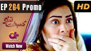 Kambakht Tanno - Episode 264 Promo   Aplus ᴴᴰ Dramas   Tanvir Jamal, Sadaf Ashaan   Pakistani Drama