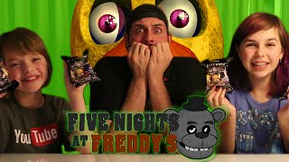 FNAF Surprise Blind Bags   ActOutGames & Jay Squared   Name Challenge   Five Nights At Freddy's