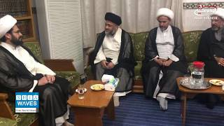 Son of Ayatollah Bashir al-Najafi visits office of Grand Jurist in Holy Najaf