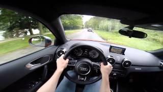 Audi S1 Sportback 231BHP Quattro 2015 POV OnBoard test drive GoPro