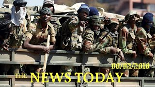 Troops Clear Streets Of Zimbabwe