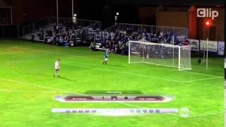 Death penalty laughs with goalkeeper caught the world