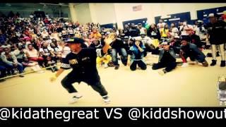 Kida Vs Kidd Dance Battle