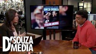 HuffPost Live: D'Souza Spars With Host Caroline Modarressy-Tehrani