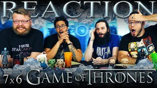 Game of Thrones 7x6 REACTION!!