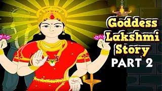 Mythological Stories For Children | Goddess Lakshmi Story | Part 2 | Masti Ki Paathshaala