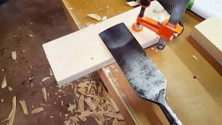 Mangling a 2x6 with a framing slick