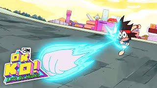 OK K.O.! Let's Be Heroes | KO Harnesses TKO's Power | Cartoon Network