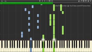 The Wanted - Walks Like Rihanna (Piano Cover) by LittleTranscriber