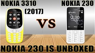 Nokia 230 2015 better then NOKIA 3310 (2017) | Feature phone comparision